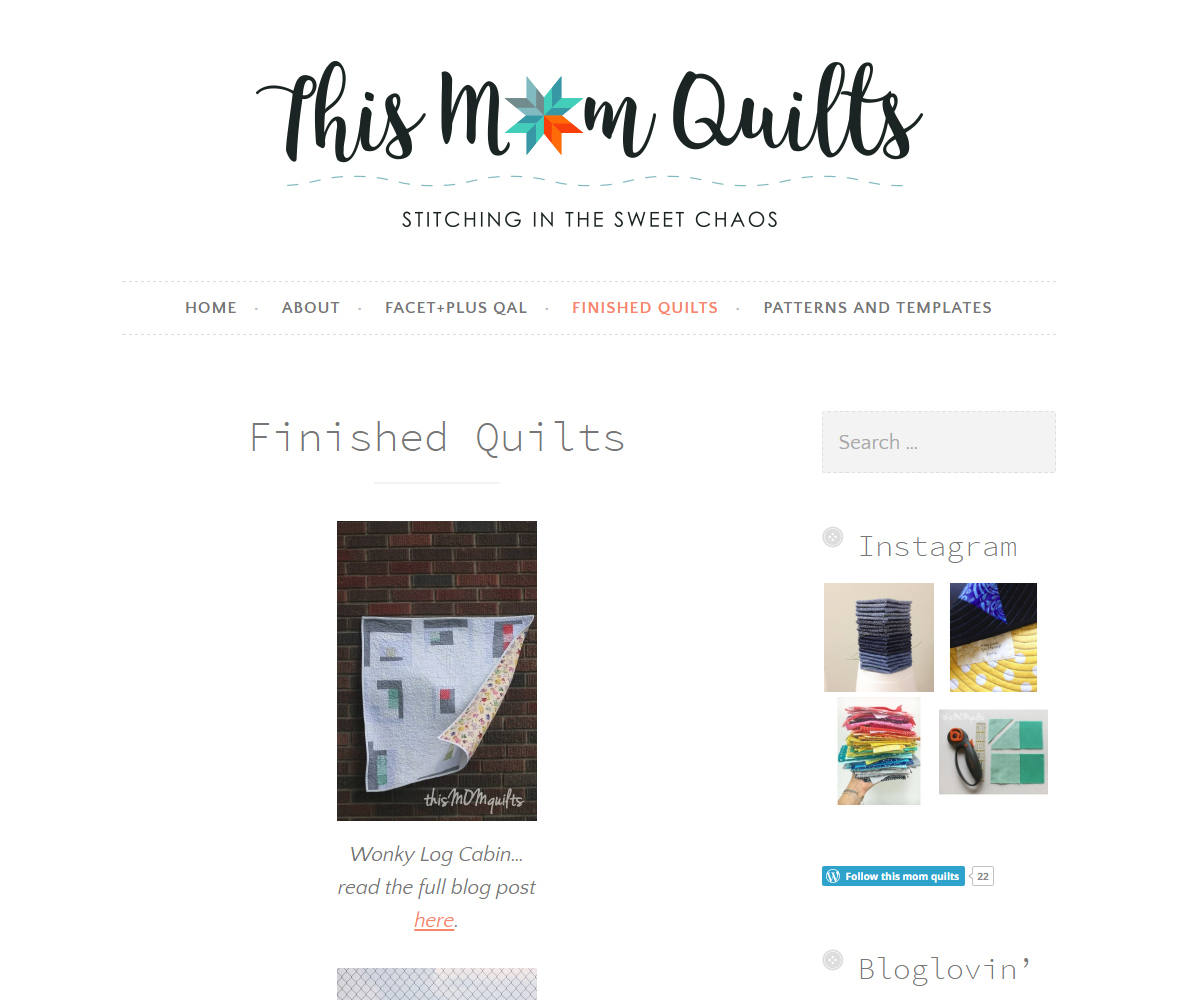 This Mom Quilts Logo - In Situ