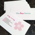 The Bex Factor Business Cards